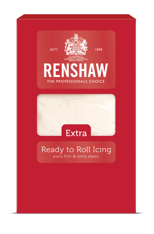 *NEW* RENSHAW EXTRA WHITE READY TO ROLL ICING- 1kg