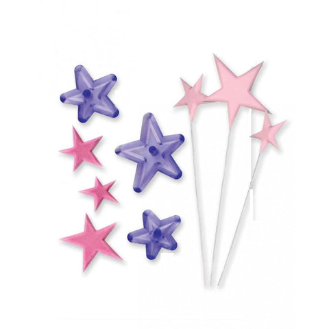 JEM Set of 3 Funky Star Cutters