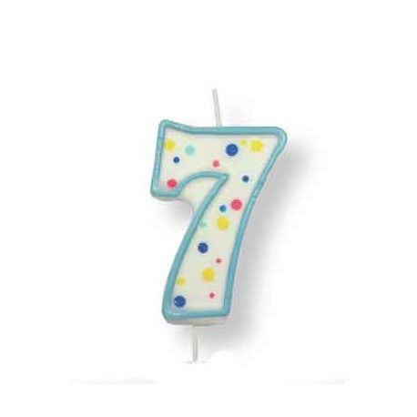PME Blue no.7 Candle