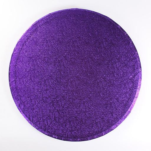 10 Inch Round Cake Drum - Purple