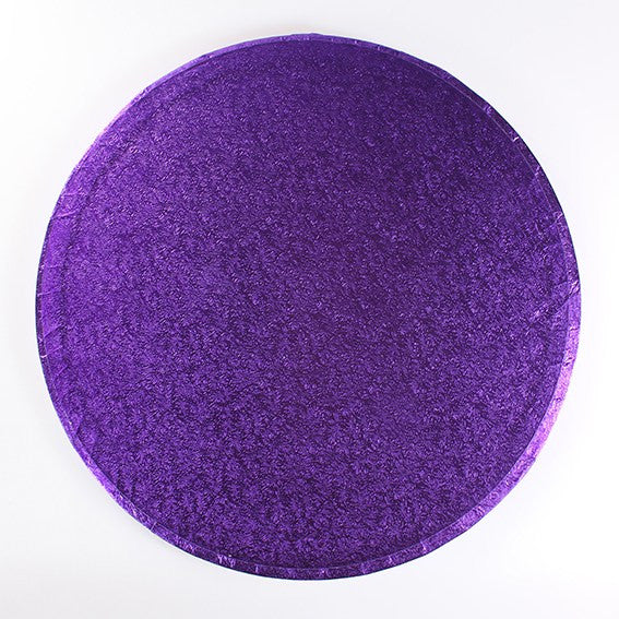 14 Inch Round Cake Drum - Purple