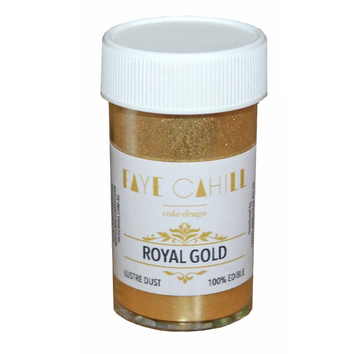 Faye Cahill  Edible Lustre Dusts- Royal Gold