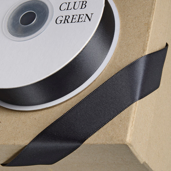 Satin Ribbon 1M 23mm - Black
