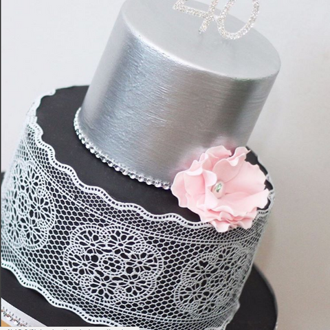 Demo - How to use cake lace! Thursday 25th May