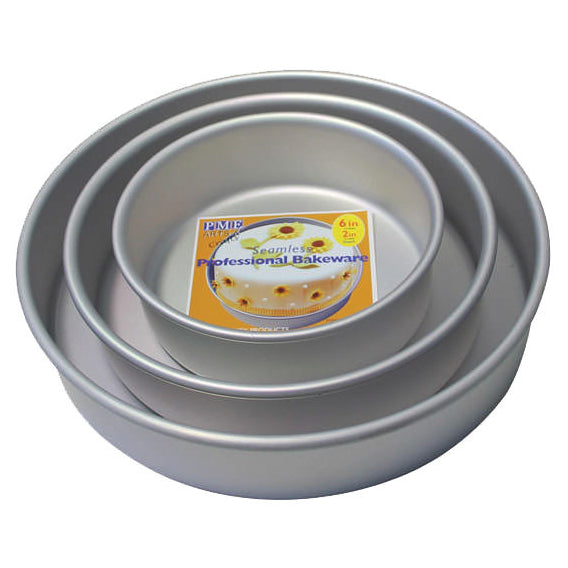 "4"" Deep Round PME Cake Tin Starter Bundle - Even"