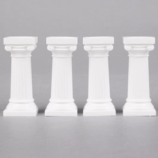 "Wilton 3"" Grecian Pillars - 4 Pack"