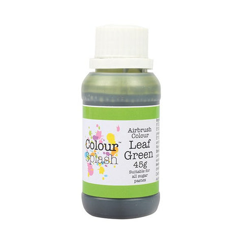 Colour Splash Airbrush Colour - Leaf Green 45g