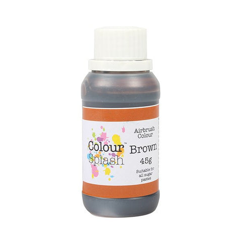 Colour Splash Airbrush Colour - Brown 45g