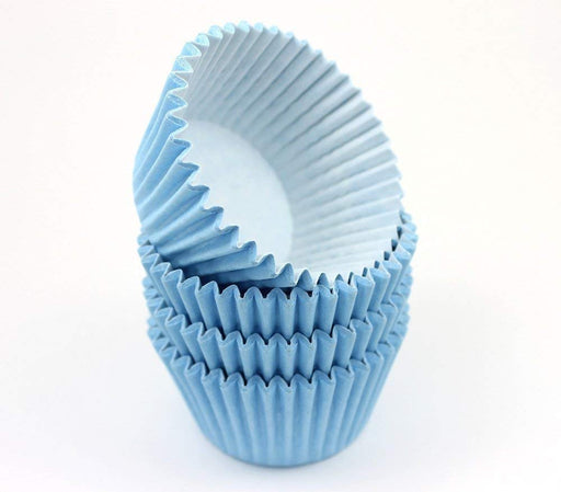 High Quality Baking Muffin/ Cupcake Cases- Baby Blue