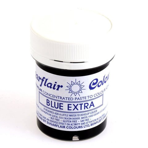Sugarflair Paste Colours - Blue Extra- 42g