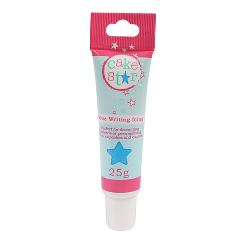 Cake Star Writing Icing - Blue - 25g