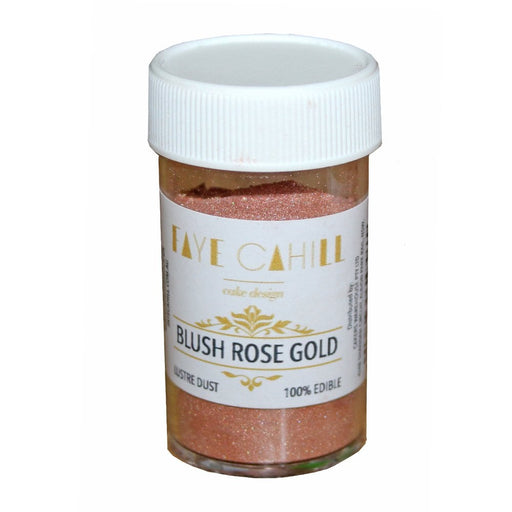 Faye Cahill  Edible Lustre Dusts- Blush Rose Gold