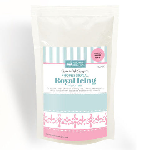 Squires Kitchen Royal Icing Mix- Bridal Rose