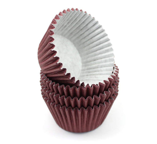 High Quality Baking Muffin/ Cupcake Cases- Burgundy
