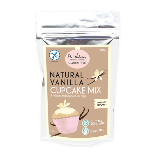 Squires Kitchen Natural Vanilla Gluten Free Cupcake Mix