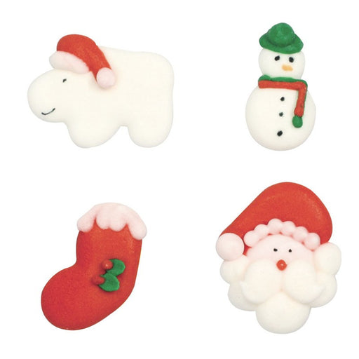Christmas Characters Sugar Decorations