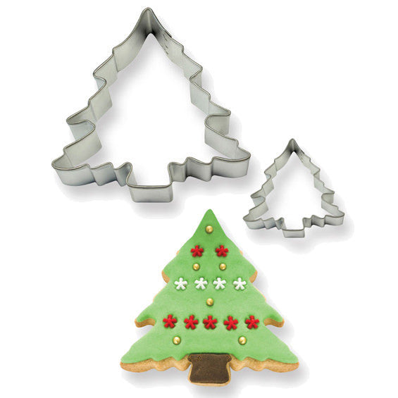 PME Christmas Tree Cookie Cutters 2 Piece