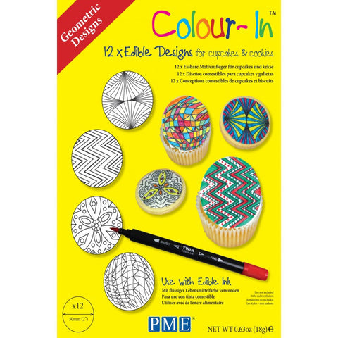 Colour-In Geometric Designs