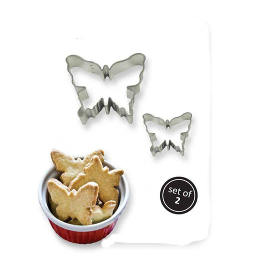 PME Butterfly Cookie Cutters 2 Piece