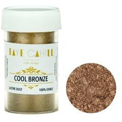 Faye Cahill  Edible Lustre Dusts- Cool Bronze