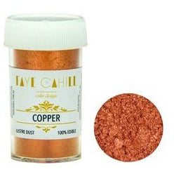 Faye Cahill  Edible Lustre Dusts- Copper
