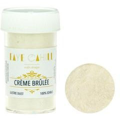 Faye Cahill  Edible Lustre Dusts- Creme Brulee