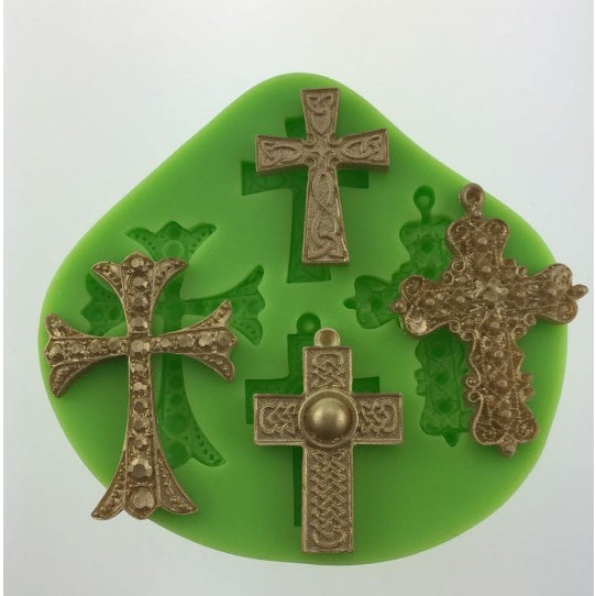 Cross Silicone Mould