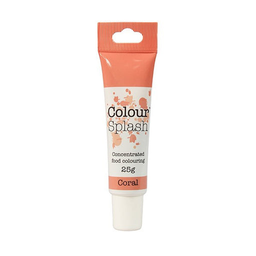 Colour Splash Gel - Coral - 25g