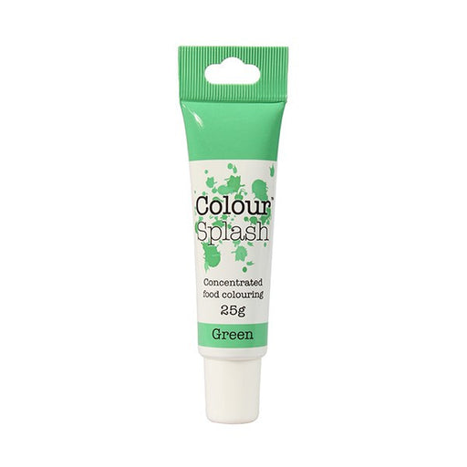 Colour Splash Gel - Green - 25g