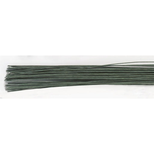 Culpitt Dark Green Floral Wire - 20g