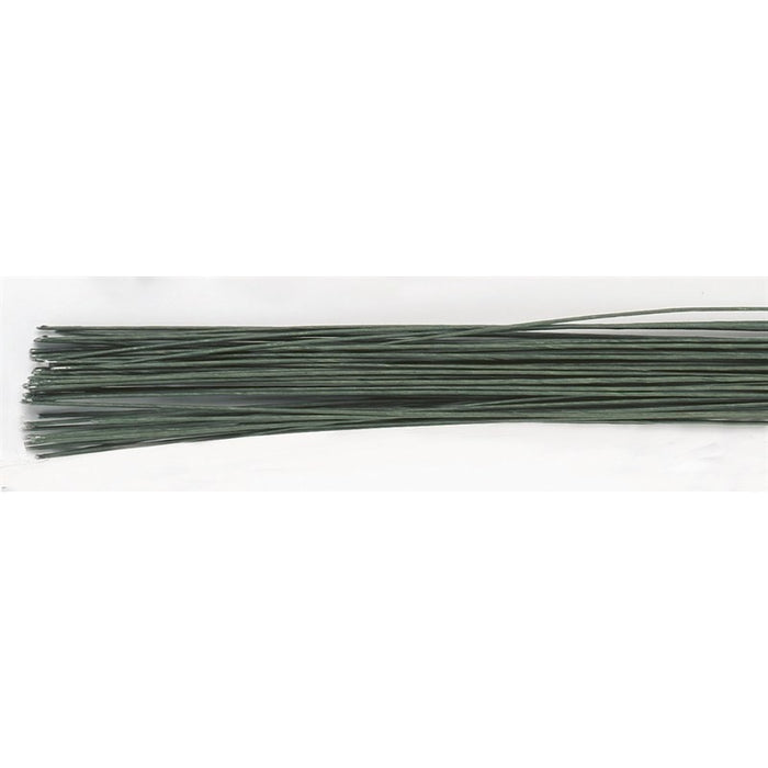 Culpitt Dark Green Floral Wire - 22g
