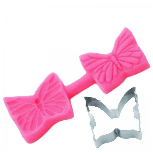 Blossom Sugar Art - Elegant Butterfly Cutter & Mould