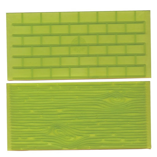 FMM Tree Bark and Brick Wall Impression Pads