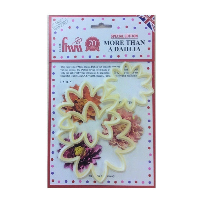 FMM 'More Than a Dahlia Cutters - Set of 3