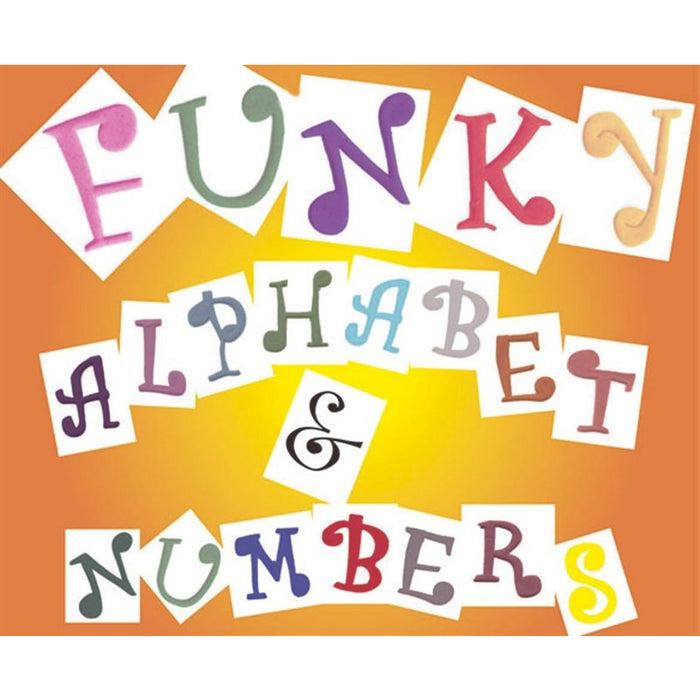 FMM Alphabet and Number Set - Uppercase Funky 4cm