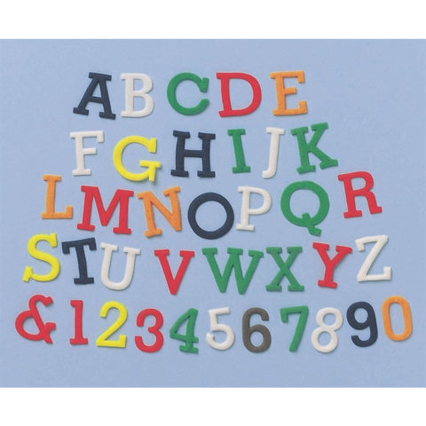 FMM Alphabet and Number Set - Upper Case 1.5cm