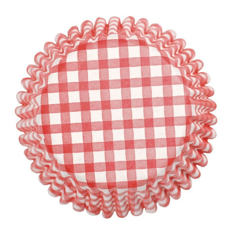 Culpitt - 54 Red Gingham Baking Cases