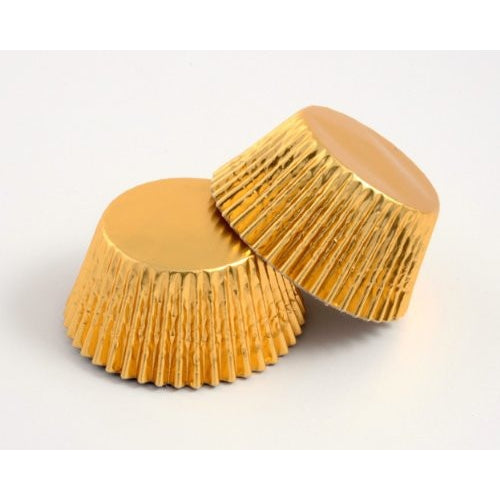 High Quality Foil Baking Muffin/ Cupcake Cases- Gold Pack 500