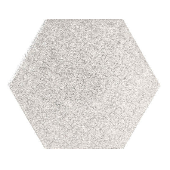 9 Inch Hexagon Cake Drum
