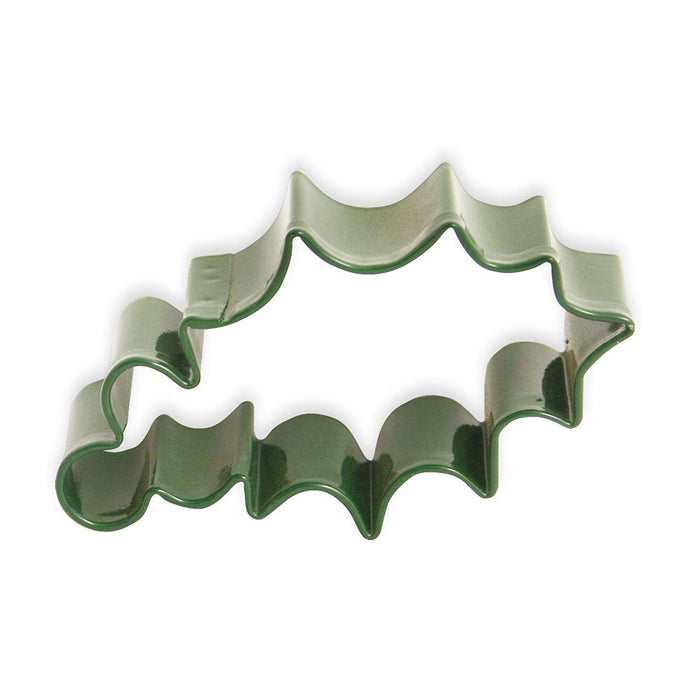 Single Holly Leaf & Berry Cookie Cutter