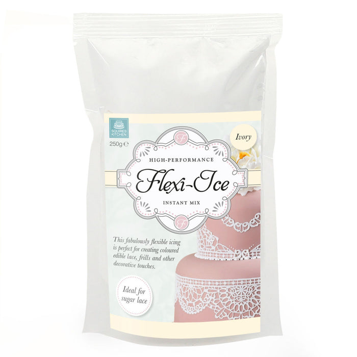 Squires Kitchen Flexi-Ice Instant Mix - Ivory 250g