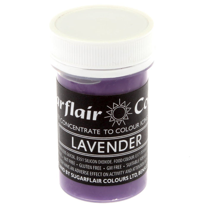 Sugarflair Paste Colours - Pastel Lavender- 25g