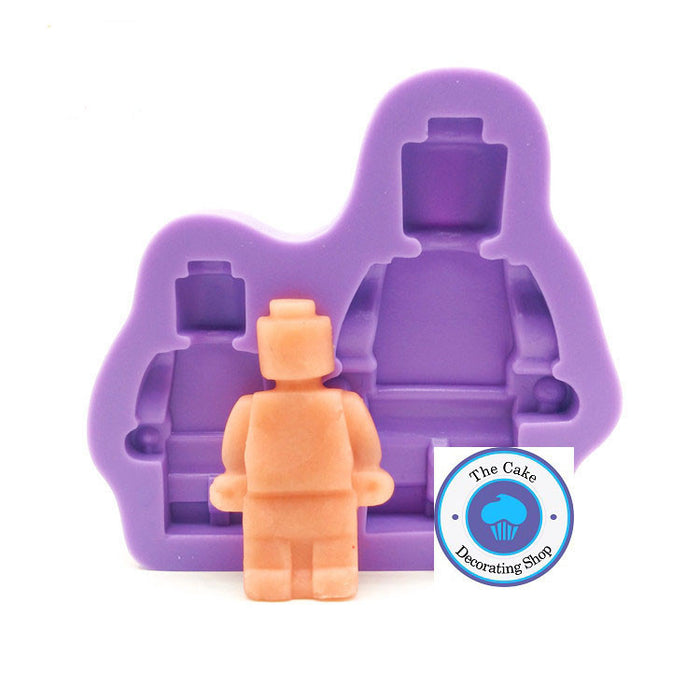 Brick Men Silicone Moulds