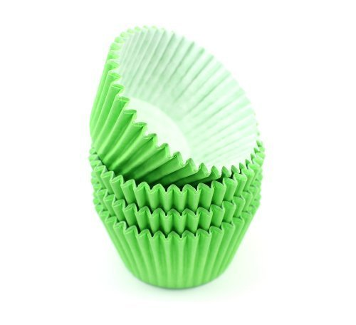 High Quality Baking Muffin/ Cupcake Cases- Lime Green