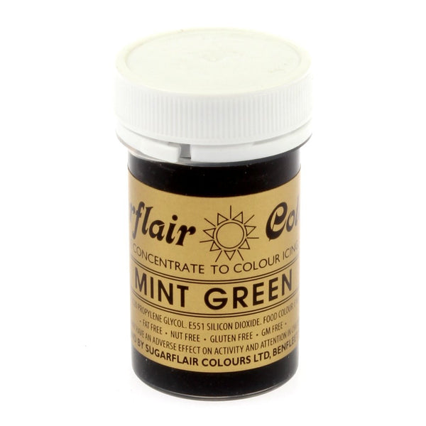 Sugarflair Paste Colours - Mint Green- 25g