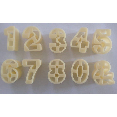 Number Cutter Set (10 piece)