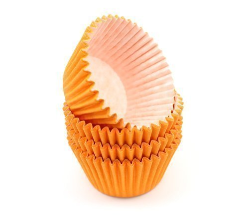 High Quality Baking Muffin/ Cupcake Cases- Orange