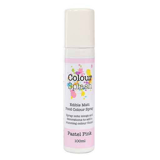 Colour Splash - Matt Food Colour Spray - Pastel Pink 100ml