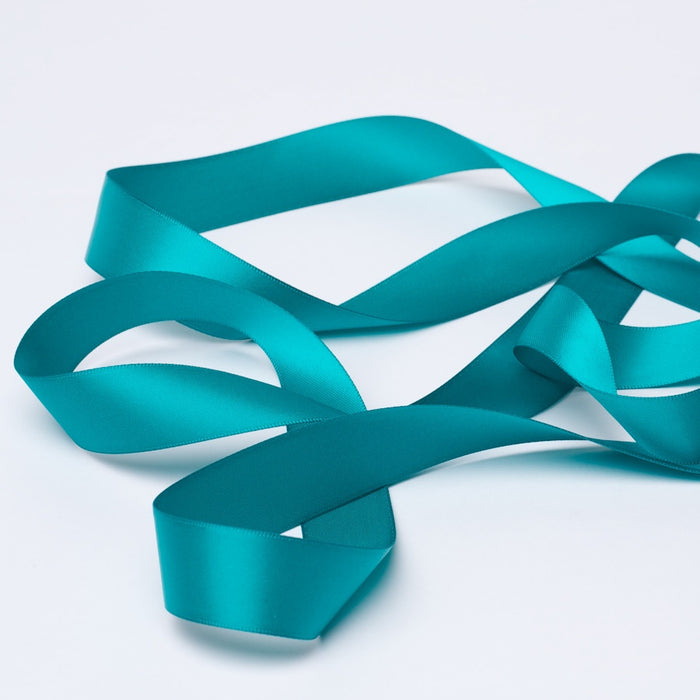 Satin Ribbon 1M 15mm - Teal