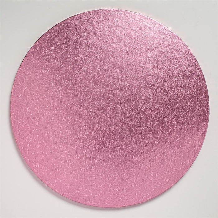 12 Inch Round Cake Drum - Light Pink